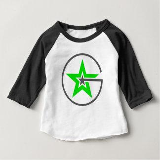 T-shirt Pour Bébé Raglan T de puissance de geek
