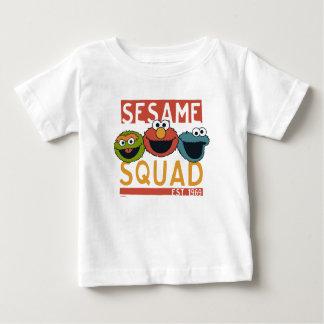T-shirt Pour Bébé Sesame Street - peloton de sésame
