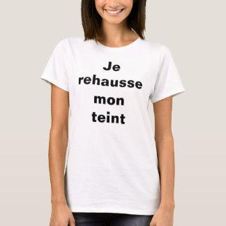T-Shirt pour femmes rehaussées