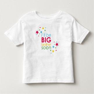 T-shirt Pour Les Tous Petits Big brother soon stars