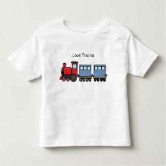 T-shirt Pour Les Tous Petits J'aime des trains