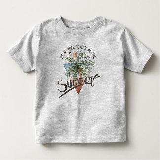 T-shirt Pour Les Tous Petits Les meilleurs moments dans la chemise de l'été  