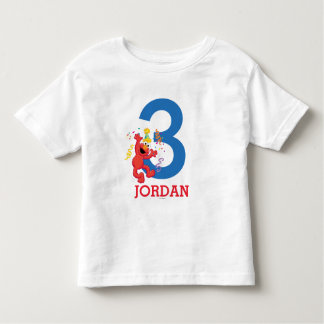 T-shirt Pour Les Tous Petits Sesame Street | Elmo - anniversaire d'arc-en-ciel