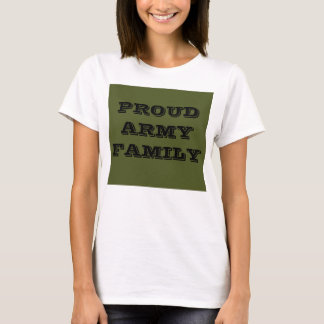 T-Shirt Proud Army Family