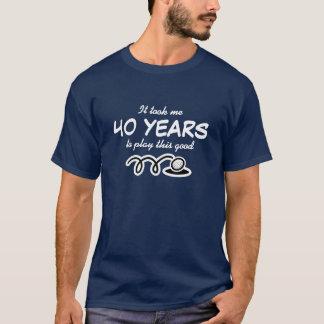 T-shirt quarantième Chemise d'anniversaire pour l'humour