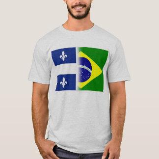 T-shirt Quebec Brazil