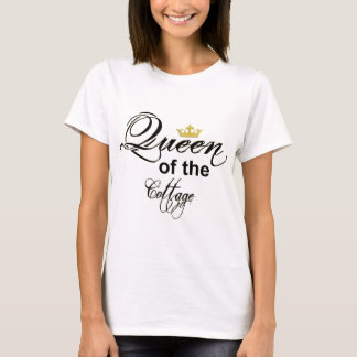 T-shirt-Queen Of cottage T-Shirt