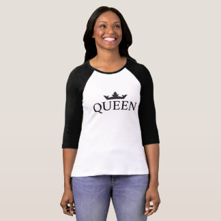 T-shirt Raglan Royal Family Queen Crown