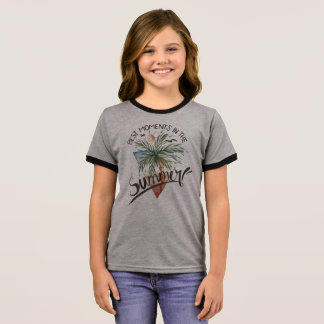 T-shirt Ras-de-cou Les meilleurs moments dans la chemise de sonnerie