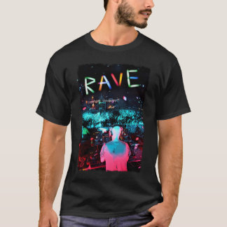 T-shirt Rave psychedelic