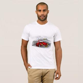 T-shirt Red car