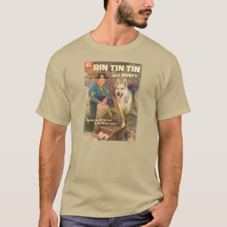 T-Shirt Rin TinTin 1958 Comic Book Cover Rusty