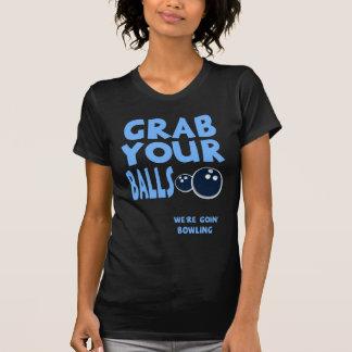 T-shirt Saisissez vos boules que nous sommes cadeau de