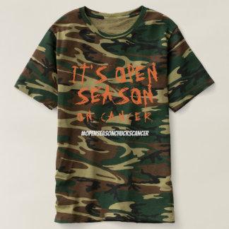T-shirt Saison ouverte sur le Cancer