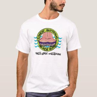T-shirt Sandy base la barre de plage