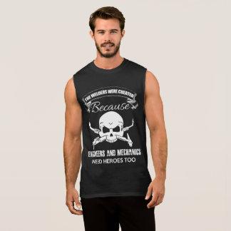 T-shirt sans manche de héros de soudeuses