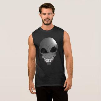 T-shirt sans manche étranger gris