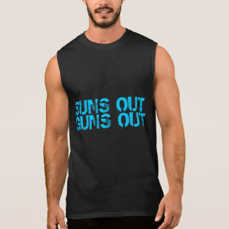 T-shirt Sans Manches Les soleils lance la chemise sans manche
