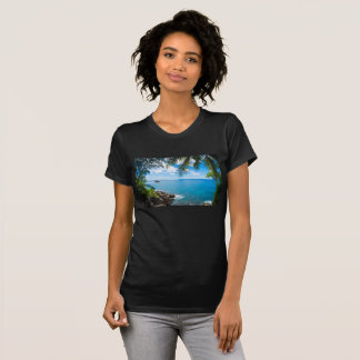 T-shirt sea landscape blue ocean