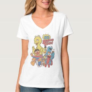 T-shirt Sesame Street 2 du cru 123
