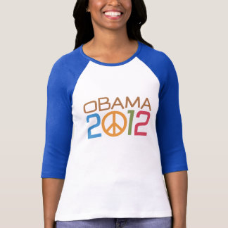 T-shirt Signe 2012 de paix d'Obama