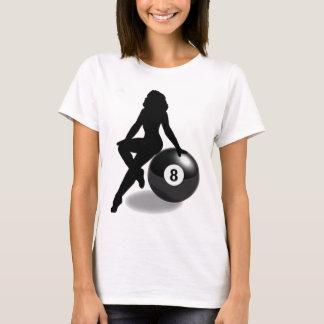 T-shirt Silhouette de 8 boules