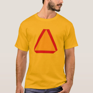 T-Shirt Slow Moving Sign Farm Construction drivers