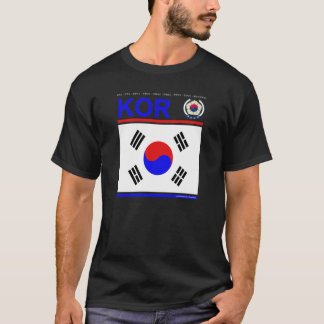 "T-Shirt ""South Korea"""