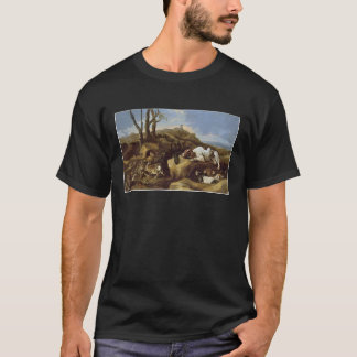 T-Shirt: Spaniels Stalking Rabbits in the Dunes T-Shirt