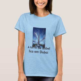 t-shirt speaking of Dubai