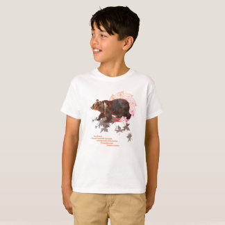 T-shirt. Spirituality, strength animal bear T-Shirt