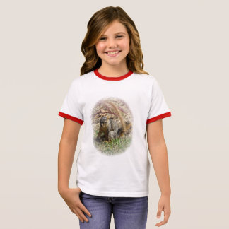 t-shirt - Squirrel Portrait