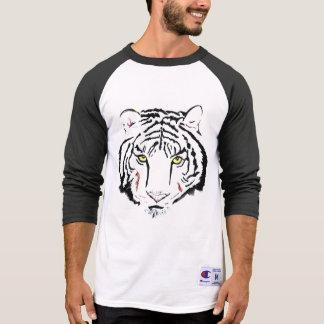 T-shirt #strong #beautiful de #tiger de #wild de visage de