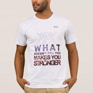 """T-Shirt """"Stronger"""" Grey Heevs™"""