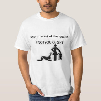 T-shirt supporting Family Law Reform
