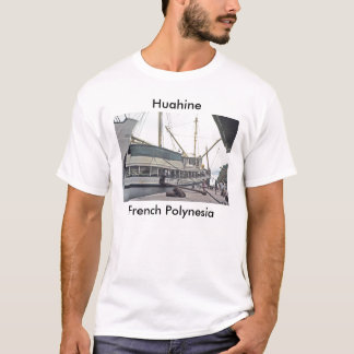 T-Shirt, The Dock at Huahine, French Polynesia T-Shirt
