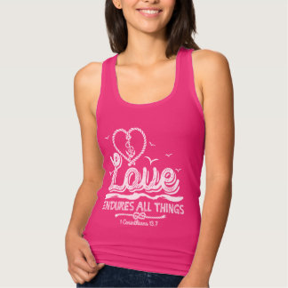 T-shirt TLove endures all things