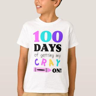 T-shirt to celebrate 100 days of Kindergarten