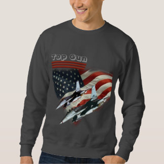 T-shirt Top Gun flag and fighter jets