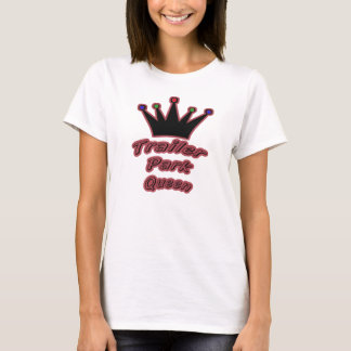 t-shirt-Trailer Park Queen T-Shirt