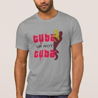 T-shirt - TUBA or not TUBA