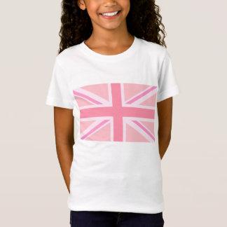 T-Shirt Union Jack rose/drapeau