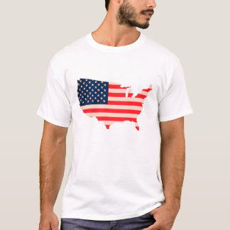 T-shirt United State of América Flag