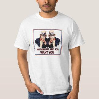 """T-shirt: USA Tour 2014 """"I&J Want You"""" T-Shirt"""