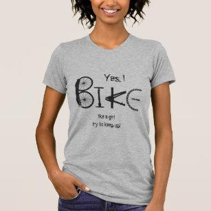 Je fais mes propres cascades T-SHIRT UNISEXE /& enfants-Humour vélo Drôle