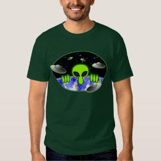 T-shirt vert étranger de Kilroy