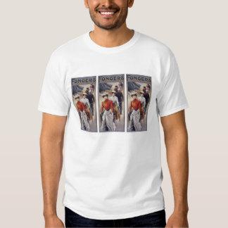 T-Shirt: Vintage Bicycles - Fongers Cycles Shirt