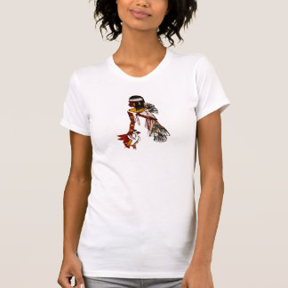 T-Shirt Vintage Egyptian With Bird 1411