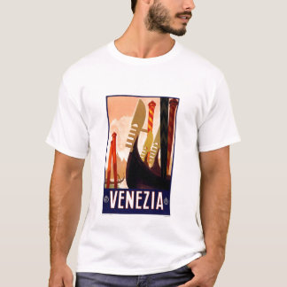 T shirt-Vintage Venezia, Italy T-Shirt