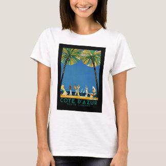 T-shirt Voyage vintage de Français de Cote d'Azur